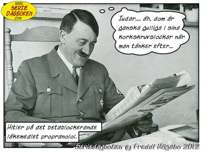 Hur Hitler slappnade av och lärde sig att älska judar
